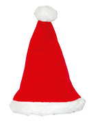 "Deluxe Plush Santa Hat 17"", Case Pack of 72 , Ideal for Bulk Buyers"
