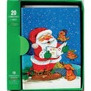 Christmas Greeting Cards & Envelopes, 20 count, Case Pack of 60, Ideal for Bulk Buyers