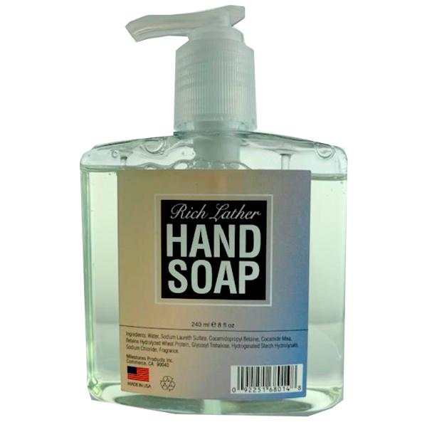 Rich Lather Hand Soap , Case Pack of 24 , Ideal for Bulk Buyers