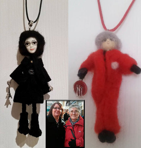 Personal pengant Gift, Personal Doll Necklace according to your photo, personal Doll Necklace, Doll Necklace, Personal necklace Gift