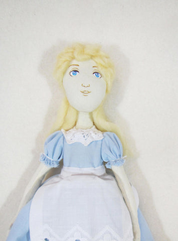 Tilda Alice doll, OOAK Alice doll, Doll Alice, doll Alice in wonderland, Alice, Alice in wonderland, Decor doll Alice, textile doll Alice