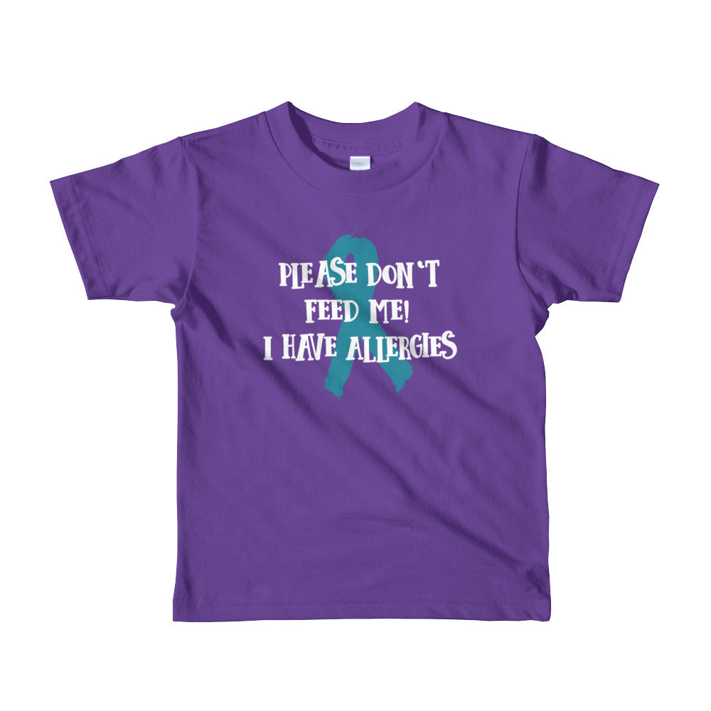 Please don't feed me - Toddler T-shirt