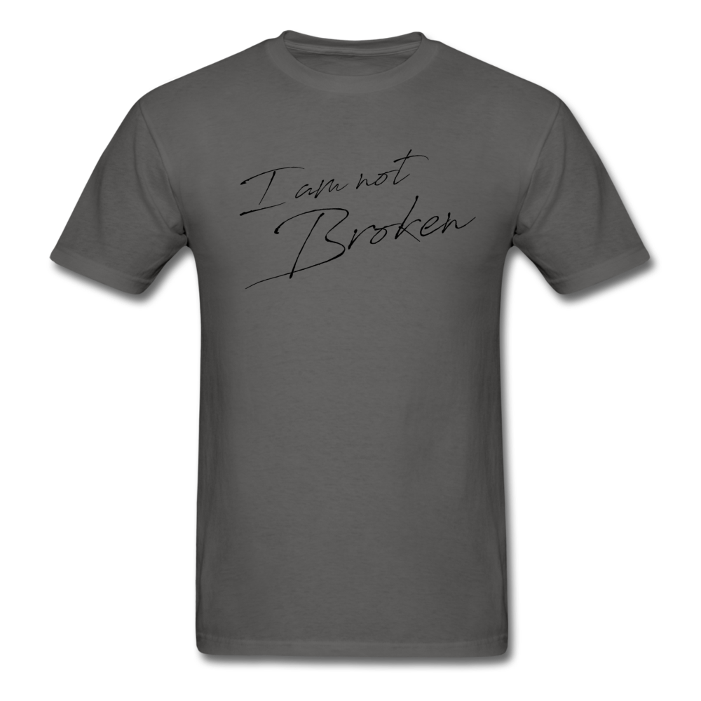 The Eva Collection - I am not Broken - charcoal
