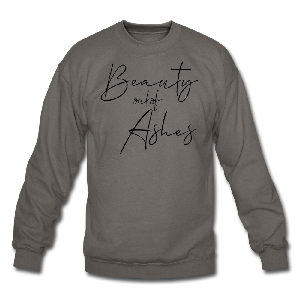 The Eva Collection - Beauty out of Ashes Pull Over - asphalt gray