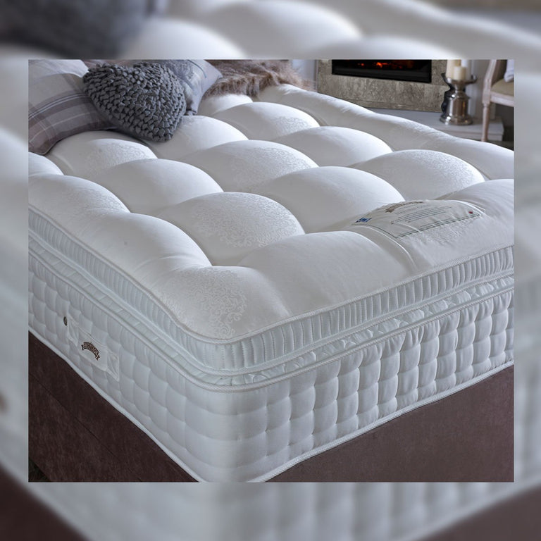 Natural 3500 Gold Divan Bed Medium Or Medium Firm 34cm Deep European Sizes Available