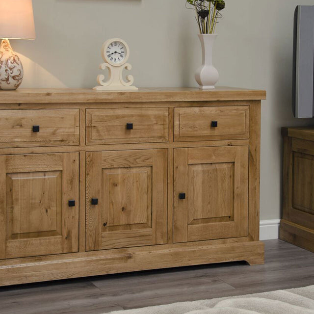 Elegance Oak Large Sideboard