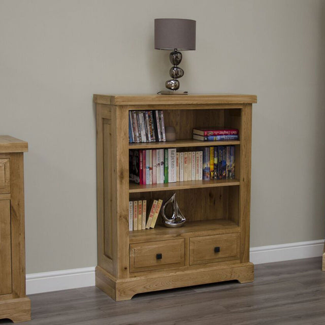 Elegance Oak Small Bookcase
