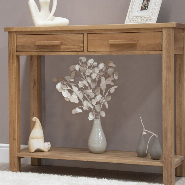 Florence Oak Console Table