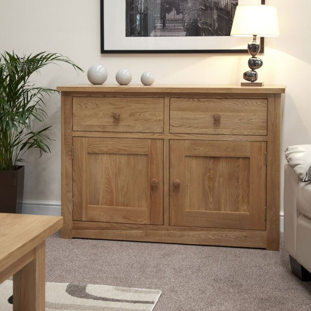 Valencia Deluxe Oak Medium Sideboard