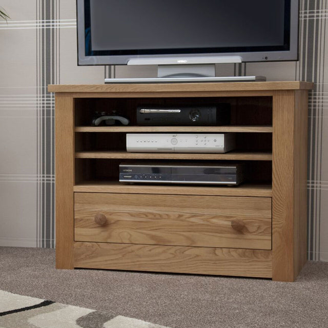 Valencia Deluxe Oak Tv Unit