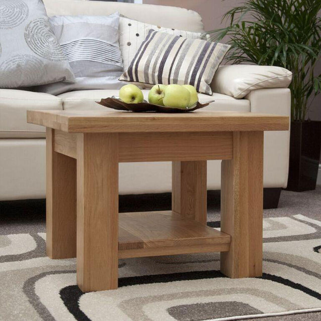 Valencia Deluxe Oak 2x2 Coffee Table