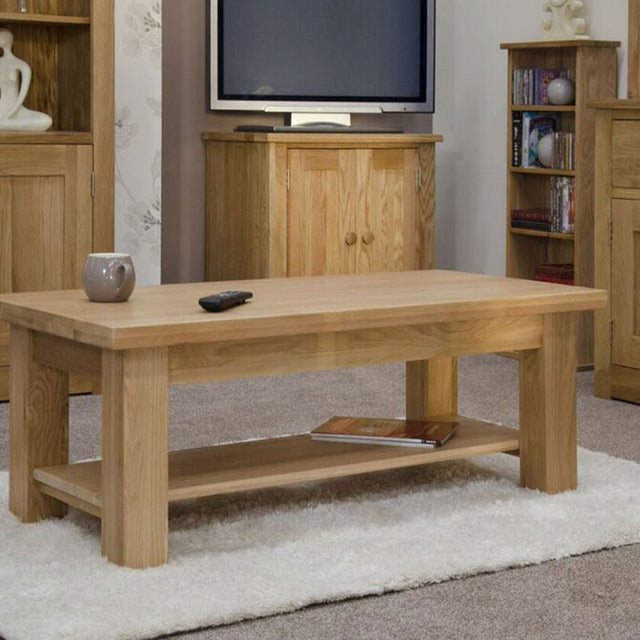 Valencia Deluxe Oak 4x2 Coffee Table