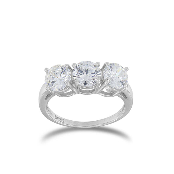 Anello Donna Trilogy in Argento ALFYO 151107