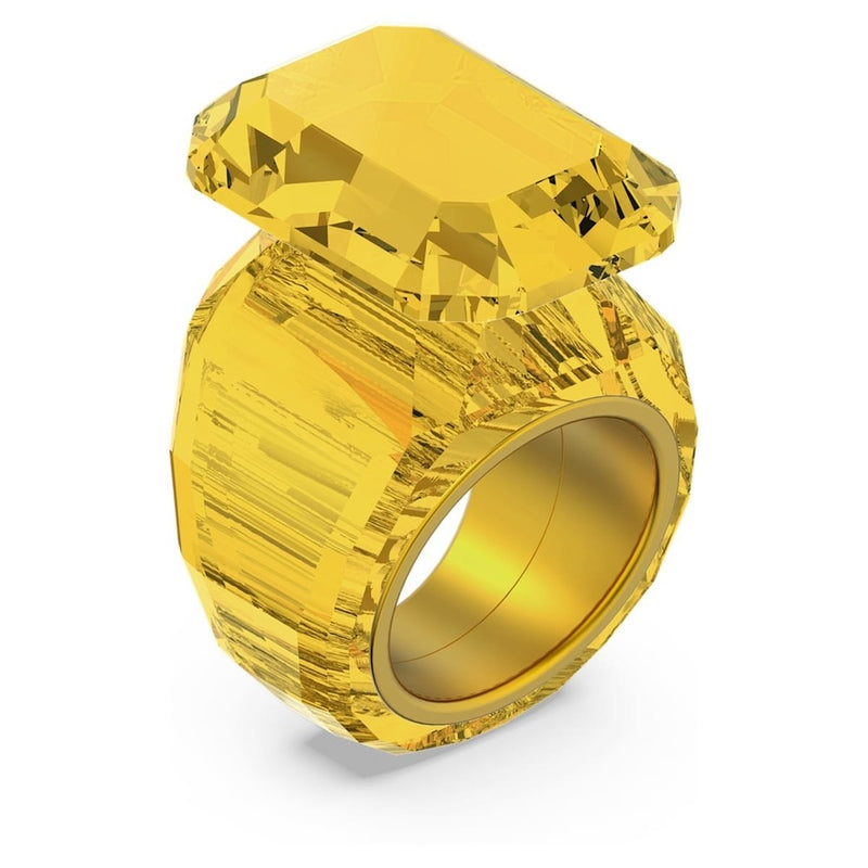 Anello Swarovski Donna Lucent Cocktail Giallo