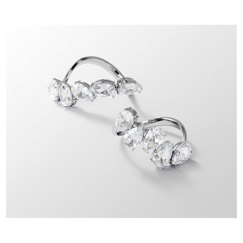 Set Due Anelli Swarovski Donna Cocktail Millenia Cristalli