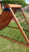 The Climbing Frame and Scramble Net combo