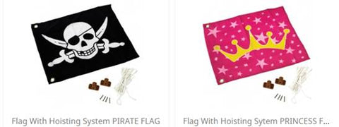 Princess Flag & Hoist