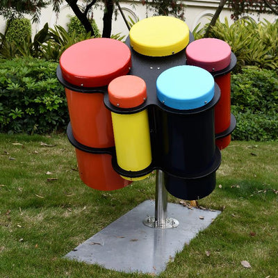 Colourful Outdoor Drums