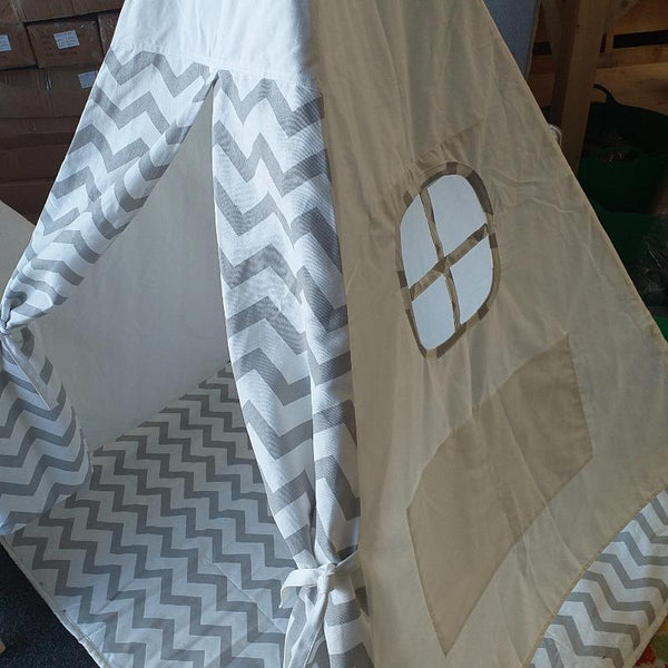 Teepee Tee pee Tipi Fabric House Playhouse Cotton Canvas