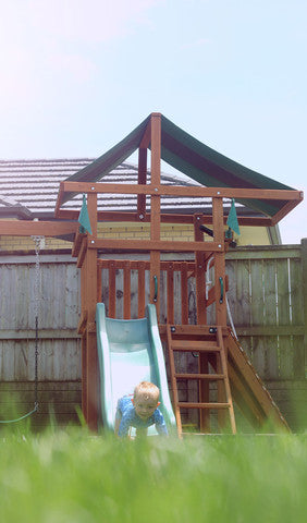 The Kiwi II - Playground set with 1.2m deck