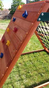 The Climbing Frame and Black Scramble Net combo