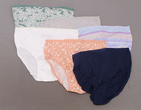 Auden Women's 6 Pairs Cotton Briefs. ZXEMY-Nobox