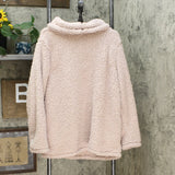 Style & Co. Women's Sherpa Cowl Neck Sweater