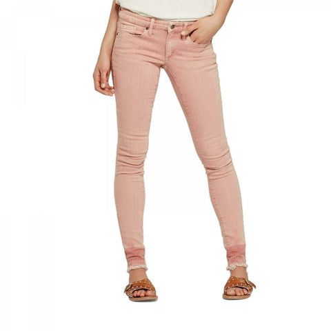 Universal Thread Women's Pink Mid-Rise Skinny Jeans