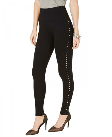 INC International Concepts Women's Shaping Studded Leggings. 100050660
