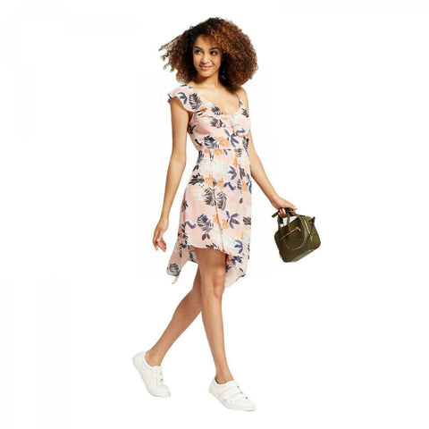 A New Day Women's Floral Print Sleeveless Wrap Dress