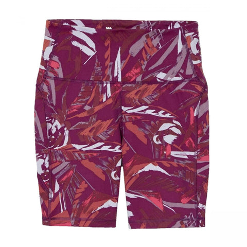 All In Motion Women's Printed High Rise Contour Curvy Bike Shorts