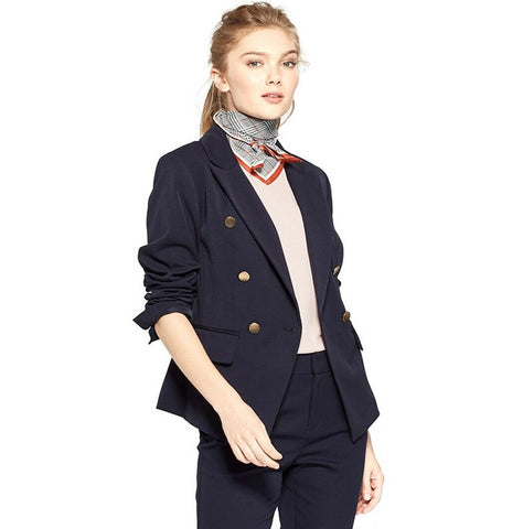 A New Day Women's Double Breasted Blazer