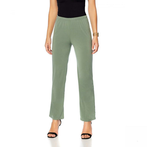 Slinky Brand Women's Basic Knit Pants