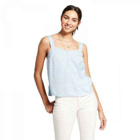 Mossimo Women's Wide Strap Camisole Sleeveless Top