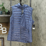 32 Degrees Women's Hooded Packable Down Puffer Vest