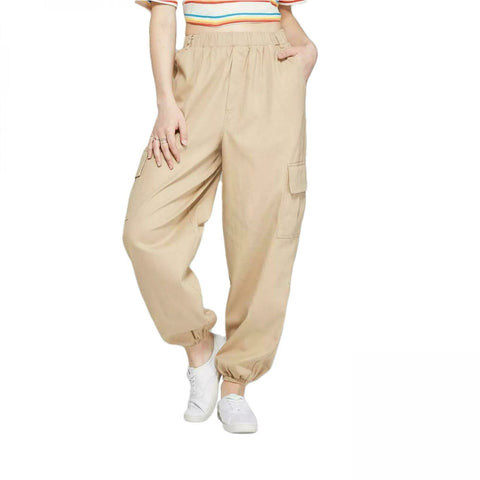 Wild Fable Women's High-Rise Baggy Cargo Pants