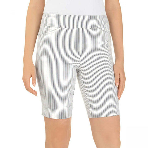 Hilary Radley Women's Stretch Pull On Bermuda Shorts