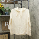 Who What Wear Women's Long Sleeve Scarf Blouse
