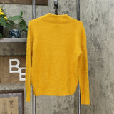 Who What Wear Women's Crewneck Fuzzy Pullover Sweater