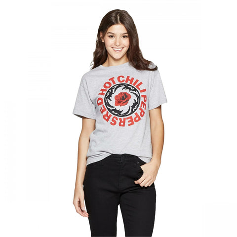 New World Sales Women's Red Hot Chili Peppers Short Sleeve T-Shirt