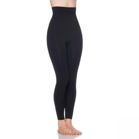 Rhonda Shear Women's Smooth Tootsie Seamless Shaping Leggings
