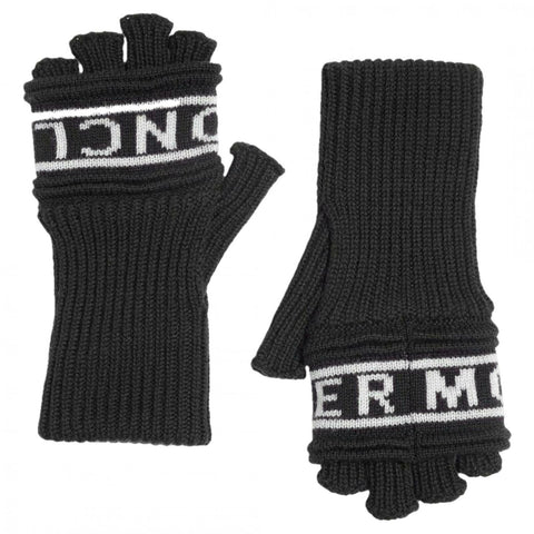 Moncler Women's Guanti Wool Long Fingerless Gloves