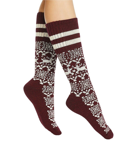 HUE Women's Cowgirl Boot Socks. U19534
