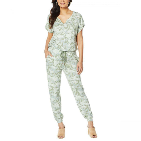 Skinnygirl Women's Brave Brushed French Terry Jumpsuit