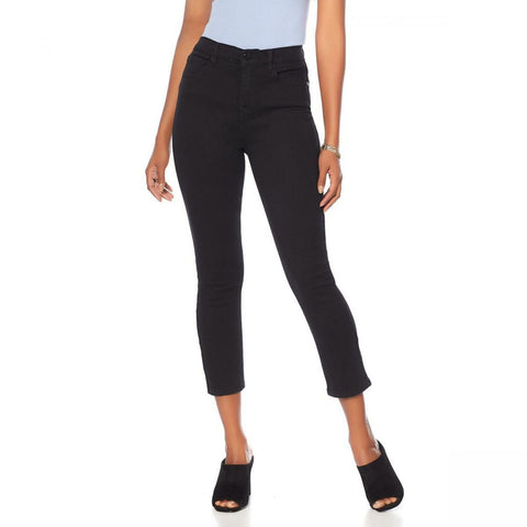 DG2 by Diane Gilman Women's Tall Virtual Stretch Cropped Skinny Jeans
