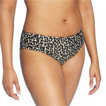 Kona Sol Women's Leopard Medium Coverage Hipster Bikini Bottom