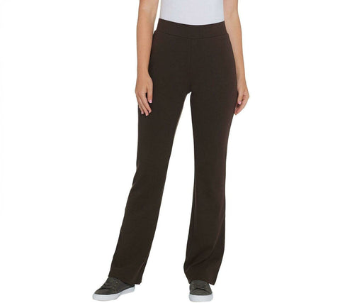 Isaac Mizrahi Live! Essentials Women's Boot Cut Yoga Pants. A343215