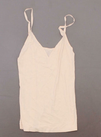 Rhonda Shear Lightweight Everyday V Neck Camisole Peachy Nude Medium