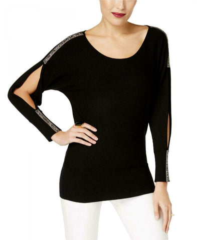 Thalia Sodi Women's Embellished Split-Sleeve Sweater. 70348TS