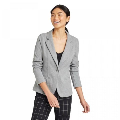 A New Day Women's Long Sleeve Knit Blazer